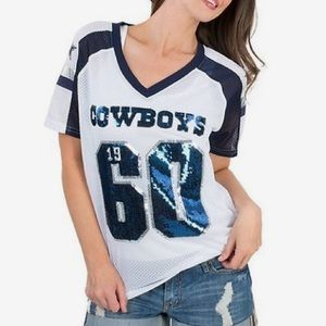 Victoria's Secret Pink Dallas Cowboys Jersey